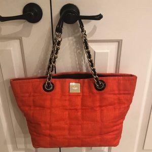 Beautiful Fall Authentic orange Kate Spade purse